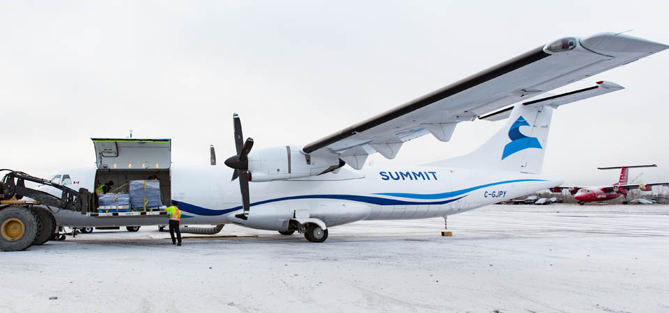 Summit Air | Large Cargo Door ATR 72 Freighter
