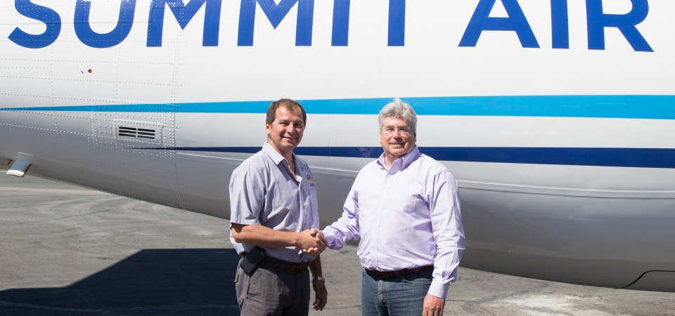 Summit Group and Det'on Cho Corporation Announce Aviation Partnership