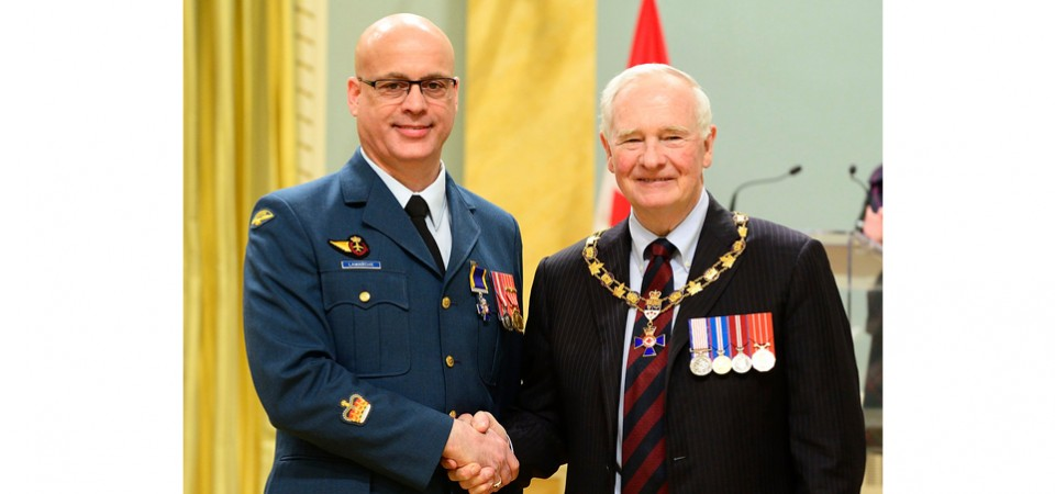 Jacques Lamarche | His Excellency the Right Honourable David Johnston | Summit Air