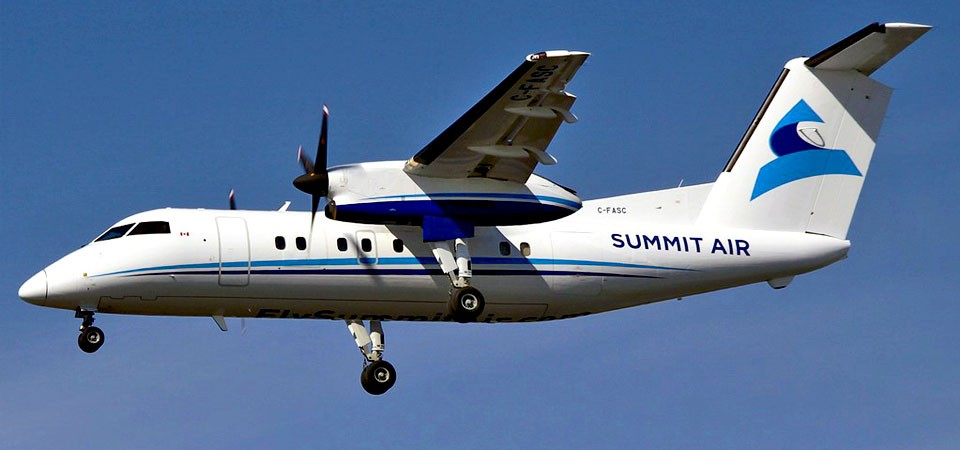 Fleet Dash 8-100 | Summit Air