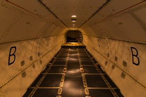 Summit Air | Inside of Large Cargo Door ATR 72 Freighter