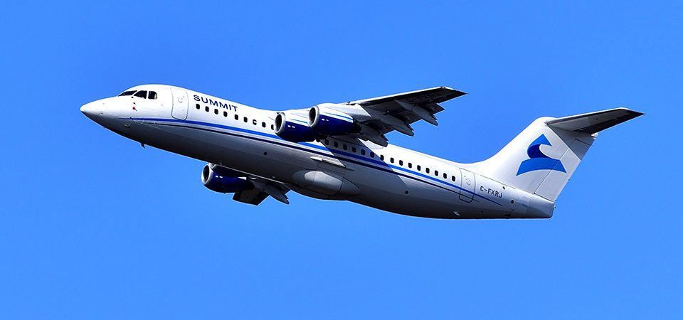 Summit Air Adds Avro Rj100 Aircraft To Fleet | News